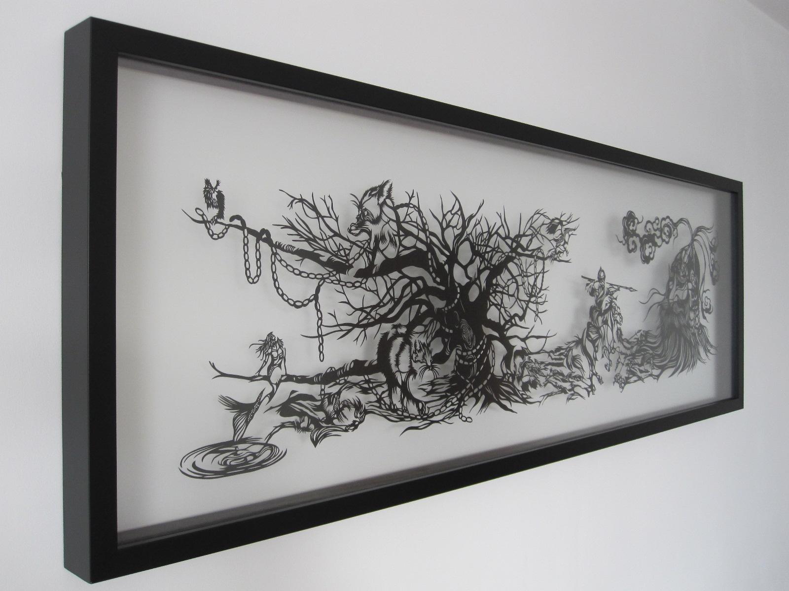 Paper Cut Art - Russian Folktale - Ruslan i Lyudmila - Nahoko Kojima