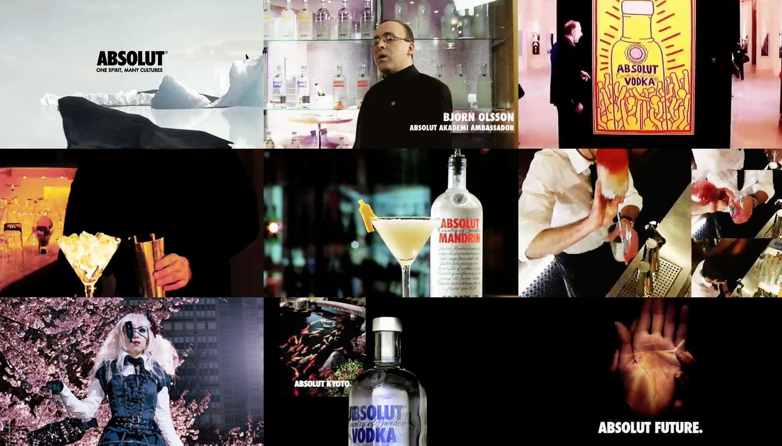 ABSOLUT One Spirit Film - Direction Solo Kojima