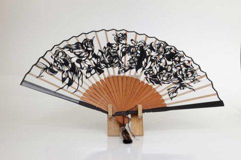Nahoko Kojima Japanese Paper cut Sensu Fan