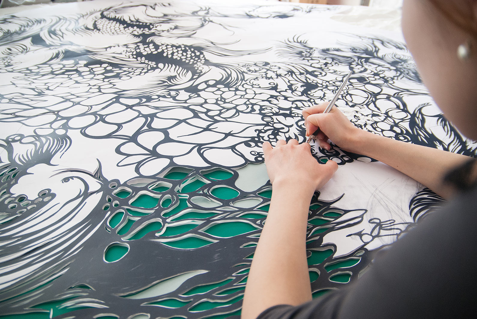 Paper Cut Art - Nahoko Kojima - Byaku