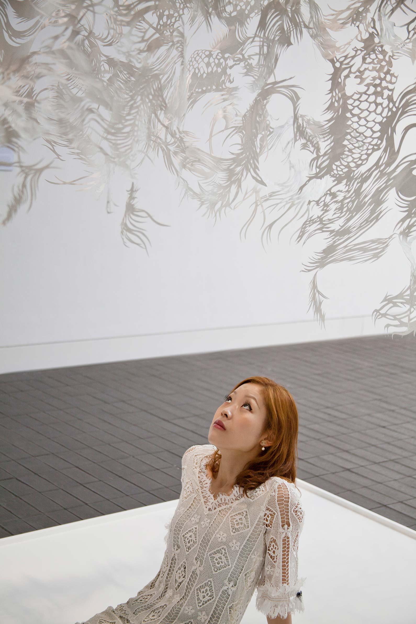 Paper Cut - Japanese Artist - Nahoko Kojima