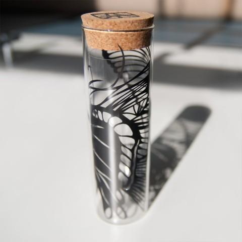 Paper Cut Vase 11 Nahoko Kojima