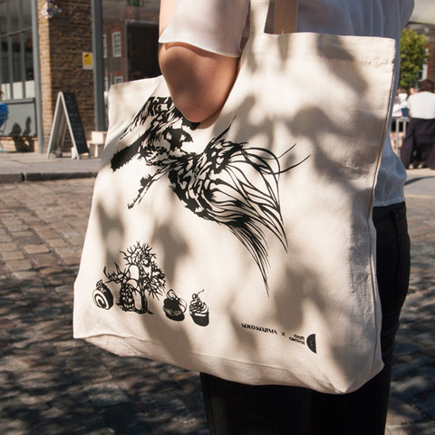 Cloud Leopard Tote Bag