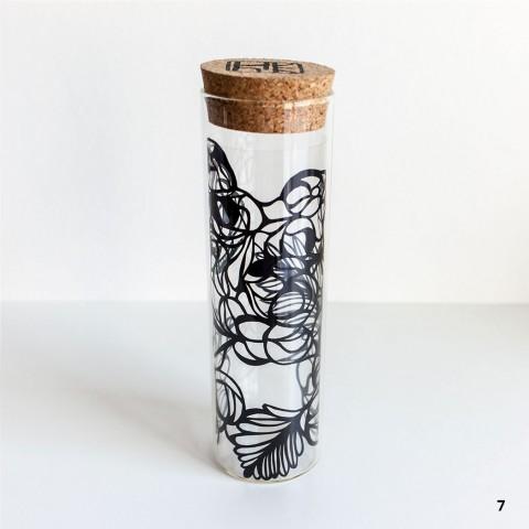 Paper Cut Sculpture Vase Nahoko Kojima 切り絵