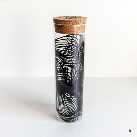 Paper Cut Sculpture Vase Nahoko Kojima