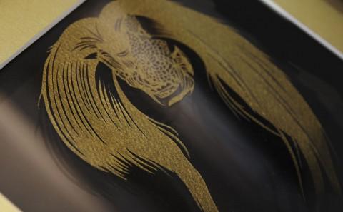 Wall Sculptures - Kiku Flowers - Paper Cut Collection - Nahoko Kojima