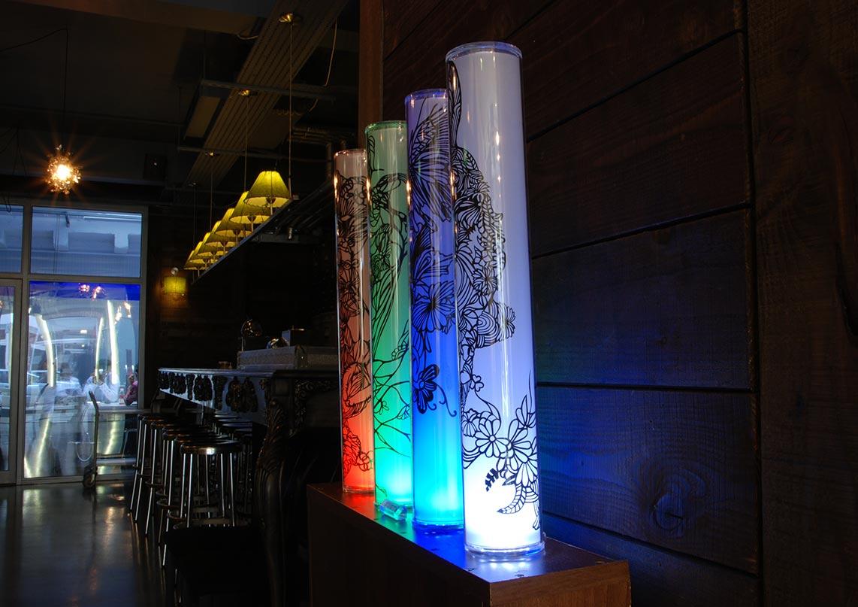 ONTOLOGICAL Lamps - Paper Cut Art - Nahoko Kojima
