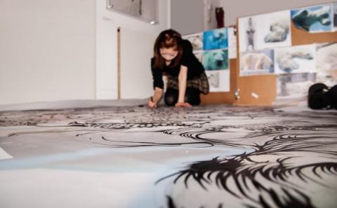 Paper Cut Art. Nahoko Kojima, Jerwood Makers Open Winner 2013.
