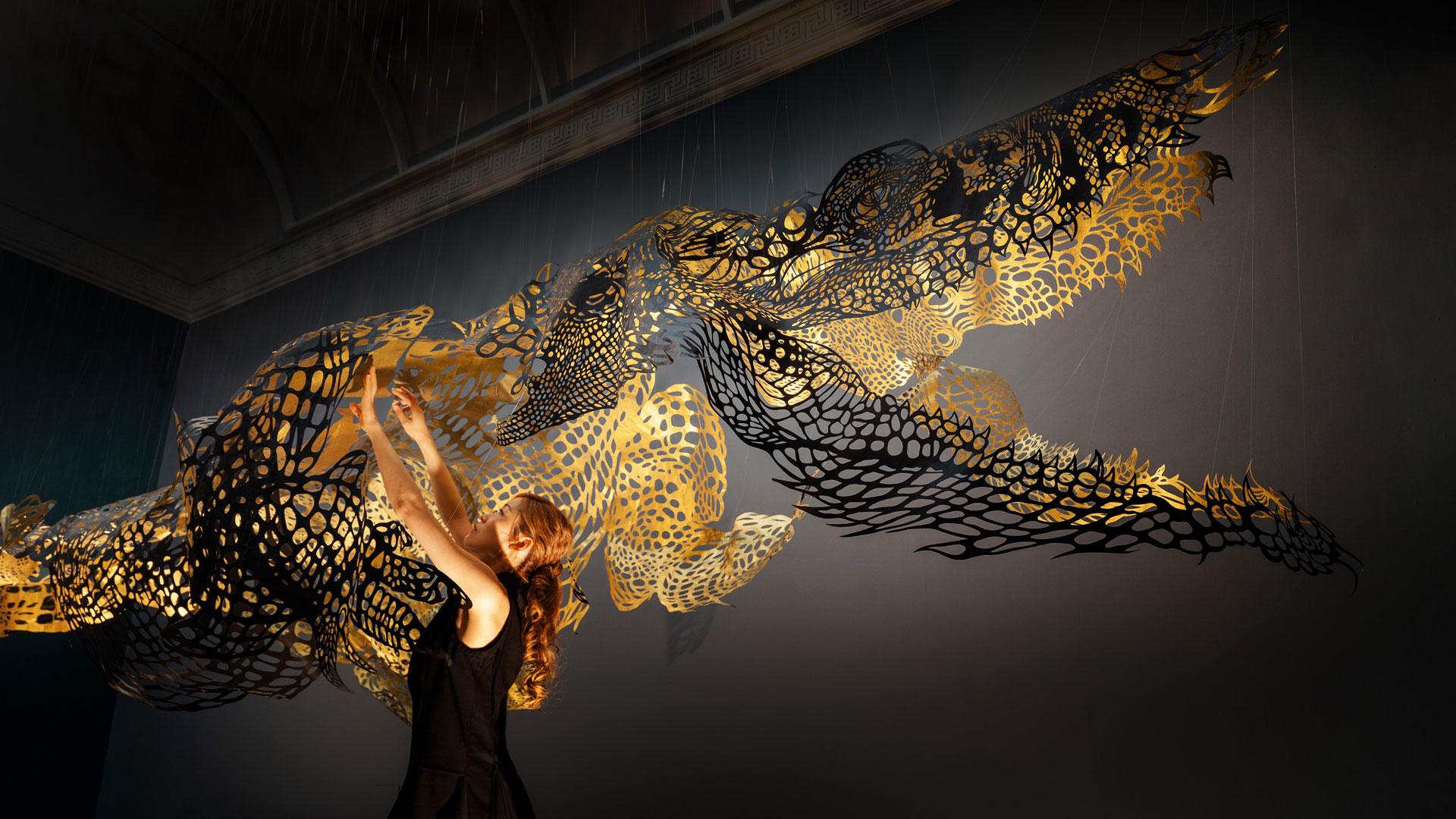 Paper Sculpture Nahoko Kojima