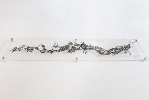 Wall Sculptures - Paper Cut Art by Nahoko Kojima – Story of a Bird