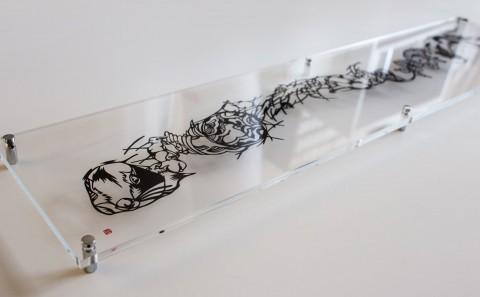 Paper Cut Art Story Rabbit Nahoko Kojima
