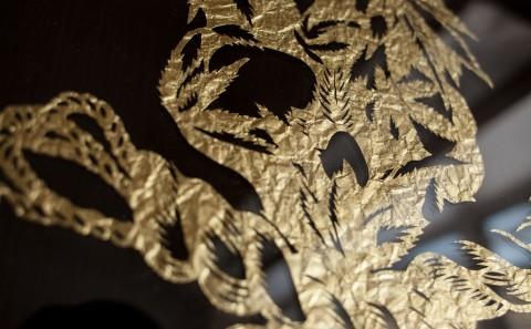 Paper Cut Art Commission Nahoko Kojima Peace