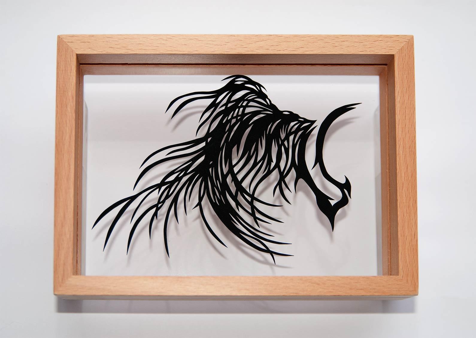 Paper Cut Art New Year 2014 Nahoko Kojima