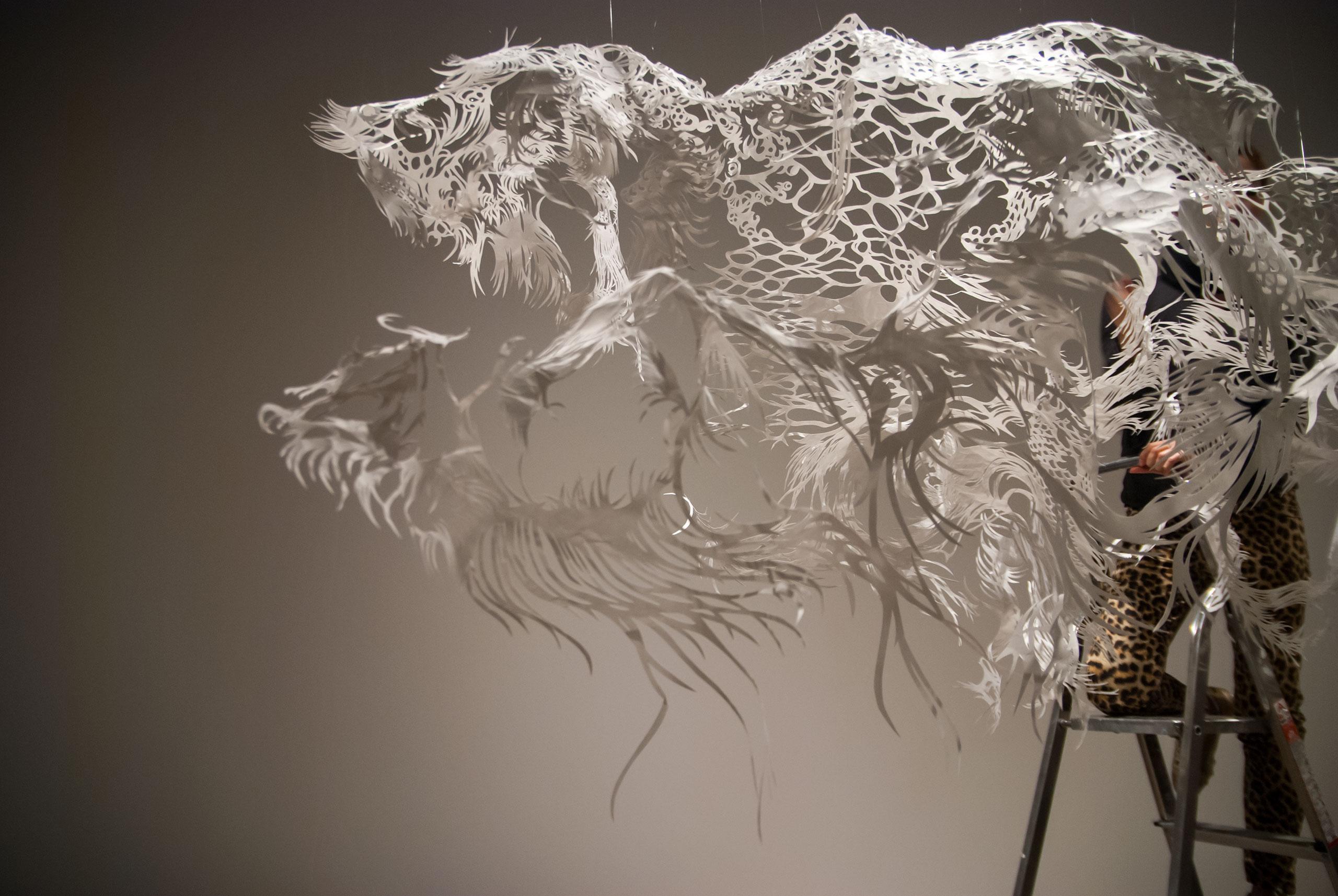 Papercutting Art Nahoko Kojima