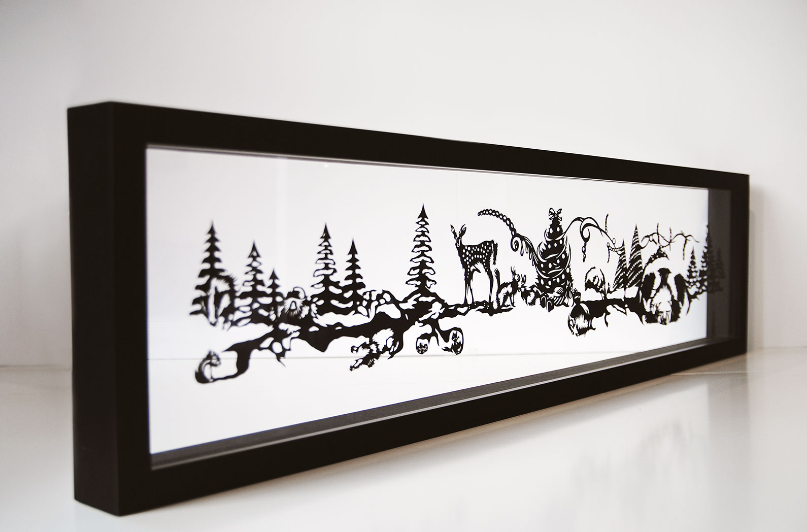 Christmas Art - Japanese Artist - Nahoko Kojima