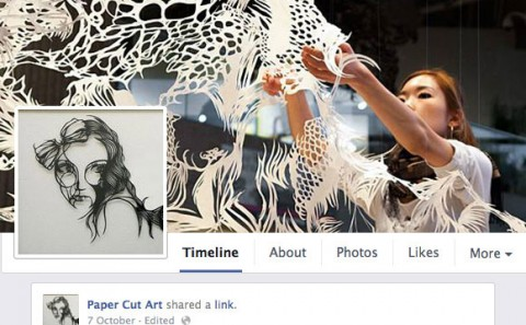 Number one Paper Cut Art Facebook Community