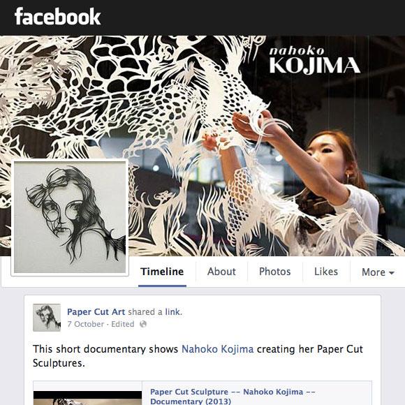 Number one Paper Cut Art Facebook Community