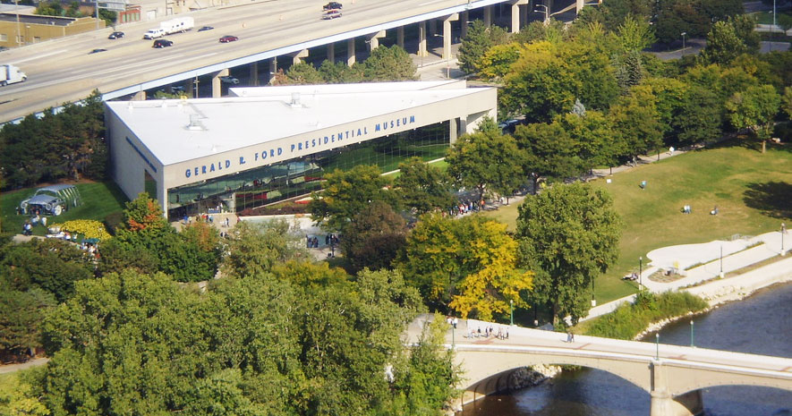 Gerald Ford Museum, Grand Rapids, Michigan, USA