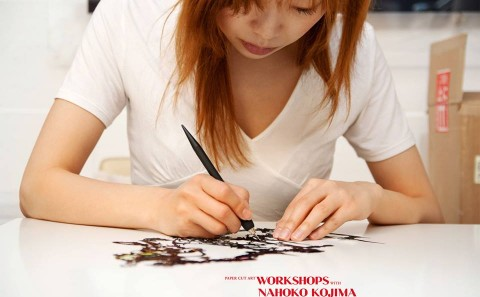 Paper Cut Art Workshops with Nahoko Kojima