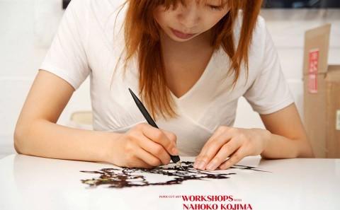 Paper Cut Art Workshops with Nahoko Kojima